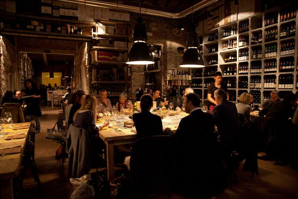 Convivial dinner at Fuori di Taste 2011