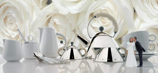 Italian Wedding Gifts: Italian Design News: 5 Iconic Alessi Wedding Gifts