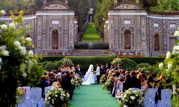 Italian Wedding Venues Villa D Este Lake Como